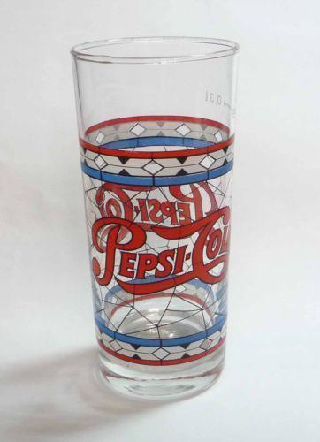 Vintage Pepsi Stained Glass Ebay