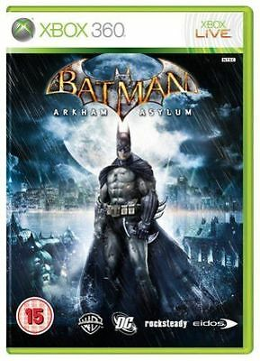Xbox 360 - Batman Arkham Asylum **New & Sealed** Official UK Stock segunda mano  Embacar hacia Argentina