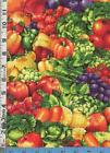 Fruit Vegetable Fabric