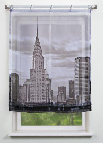 raffrollo schwarz rollos gardinen vorh nge ebay. Black Bedroom Furniture Sets. Home Design Ideas