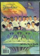 1986 Yankees Yearbook