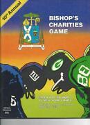 New York Giants Football Programs
