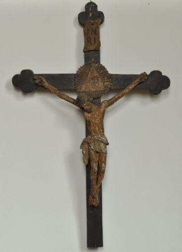 Antique Wooden Cross Ebay