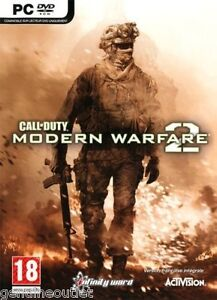 Call of Duty Modern Warfare 2 for (PC DVD) SEALED NEW