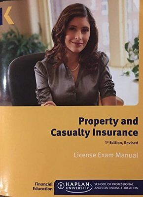 Property Casualty Insurance Li By Kaplan Financial Education