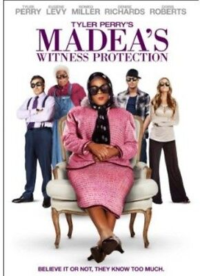 Tyler Perry's Witness Protection [New DVD] Digital Copy, Subtitled, Widescreen
