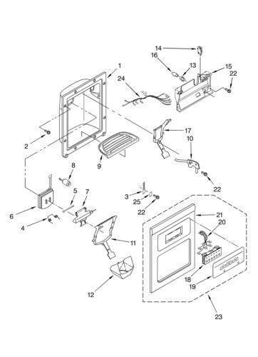 Whirlpool Refrigerator Door Parts Ebay