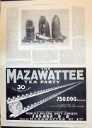 Mazawattee Tea