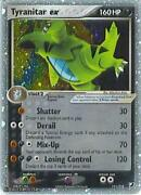 Pokemon Card Tyranitar EX