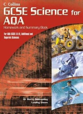 Very Good, GCSE Science for AQA - Science Summary and Homework Book, , Book