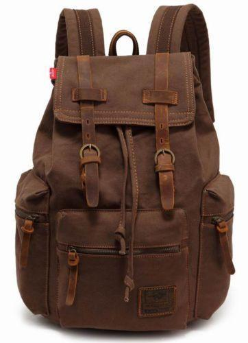 Canvas Rucksack Clothing Shoes Amp Accessories Ebay