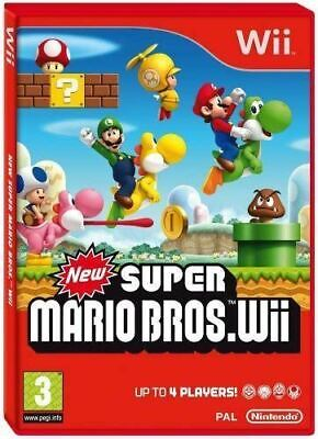 Wii / Wii U - New Super Mario Bros - Same Day Dispatch - Boxed - VGC - Complete