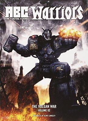 ABC Warriors: Volgan Guerra V.2 Por Pat Mills ,Clint Langley,Nuevo Libro,Libre Y