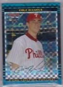 2002 Bowman Chrome Cole Hamels