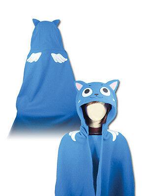 NEW Official Great Eastern GE-34000 Fairy Tail Series - Happy Hoodie Blanket
