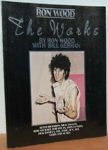 Ron Wood-The Works-Artworks & stories/ Rolling Stone guitarist