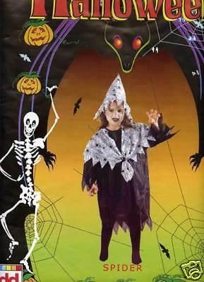 *** SALE *** HALLOWEEN FANCY DRESS COSTUME D GIRLS SPIDER COSTUME LG AGE - Halloween Costumes For Girls Age 9