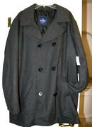 Mens Pea Coat XXXL