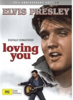 Loving You DVD 2019 Elvis Presley NEW