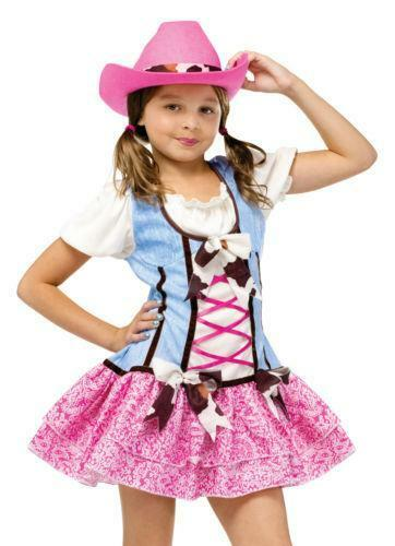 Cowgirl Costume Kids Ebay