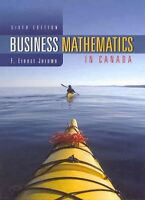 Business Mathematics in Canada Sixth Edition