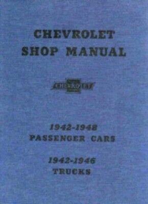 Chevrolet 1942 1948 Car   1942 1946 Truck Shop Manual