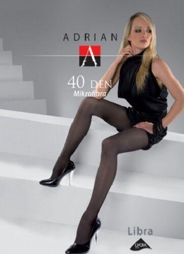 Adrian, klassische Microfaser-Strumpfhose für Damen, 40 den, viele Farben, bunt