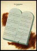 Ten Commandments Art