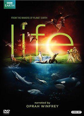 Bbc Life 4 Disc Dvd Set Narrated By Oprah Winfrey   Brand New