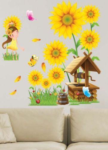 Sunflower decor ebay for Sunflower home decor