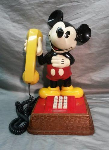 1976 Mickey Mouse Phone Ebay