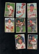Bowman Baseball Card Lot 1952
