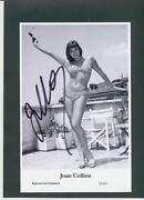 Joan Collins Signed