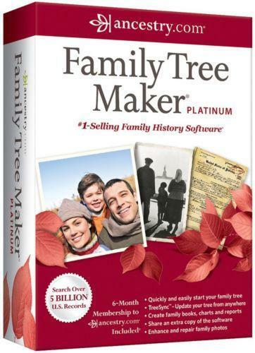 Family Tree Maker Ebay