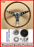 Ford Wood Steering Wheel