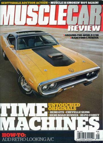 Muscle Car Review Magazine Back Issues Ebay