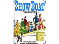 Show Boat vocal selections (12) by Jerome Kern & Oscar Hammerstein for choirs 12 Books total