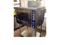 Convection Bakery Steam Oven Gas With Direct Injection Steam (With Stand)