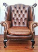 Queen Anne Chesterfield Sofa