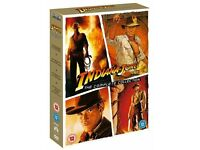 Indiana Jones: The Complete Collection - 4 DVD Box Set