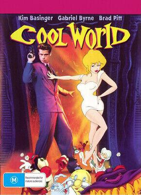Cool World (DVD Widescreen 2020) Brad Pitt NEW