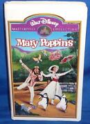 Disney Mary Poppins Masterpiece Collection VHS