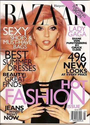 Lady Gaga Bazaar Magazine Back Issues Ebay