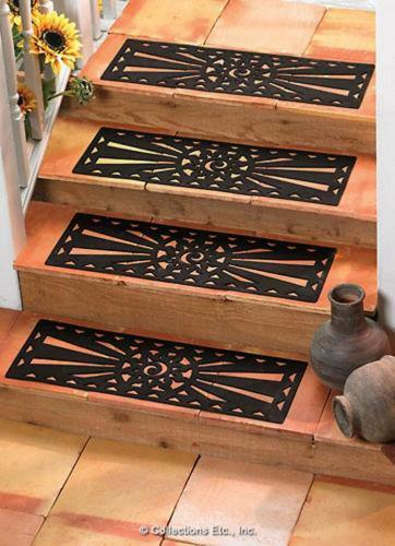 Non skid stair treads ebay for Non skid stair treads exterior
