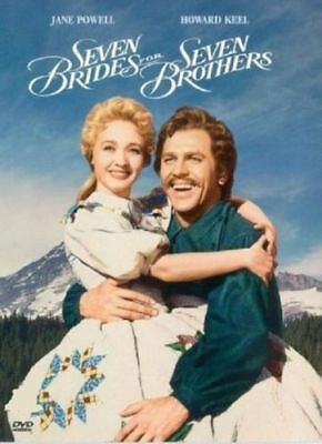 Seven Brides for Seven Brothers (1954) Jane Powell, Howard Keel DVD *NEW