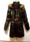 Leather Fur Hood