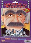 Old Man Costume Eyebrows Hair