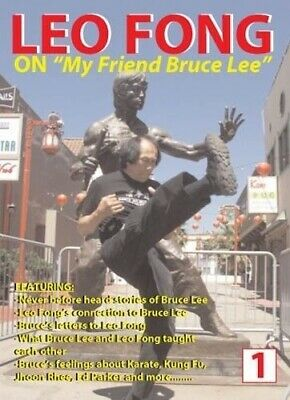 Kung Fu Master Leo Fong On My Friend Bruce Lee DVD training Jeet Kune Do