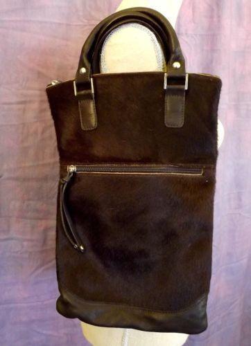 foldover leather crossbody bag ebay