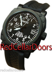 NEW-03-60-ISSUE-TRINTEC-AVIATION-ALTIMETER-ZULU-03-BLACK-WATCH-RUBBER-BAND-450